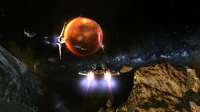 Galactic Starfighter: Übung macht den Meister!