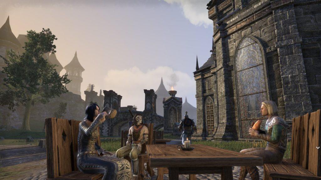 The Elder Scrolls Online Kommunikation