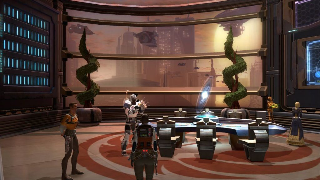 Star Wars The Old Republic - Housing auf Coruscant