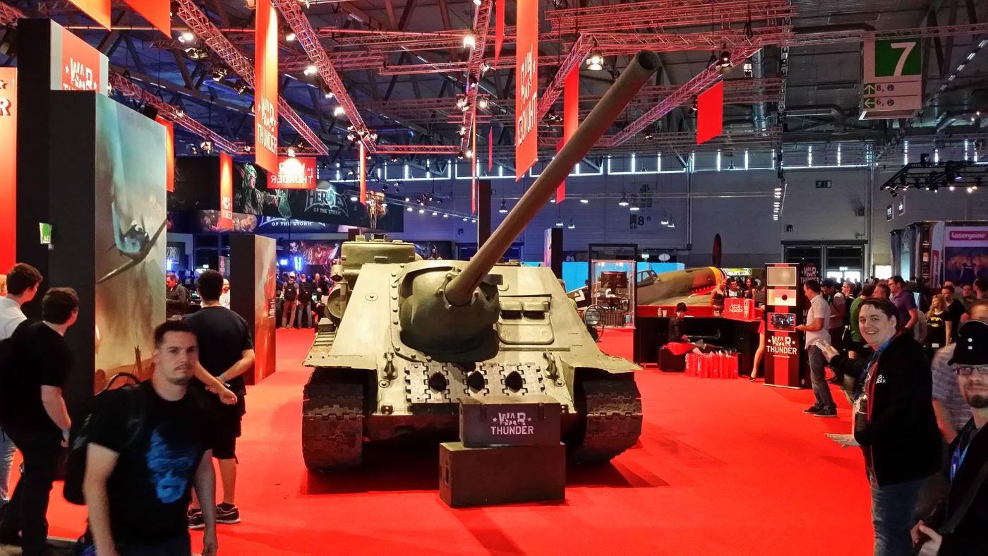 War Thunder Panzer auf der Gamescom 2014
