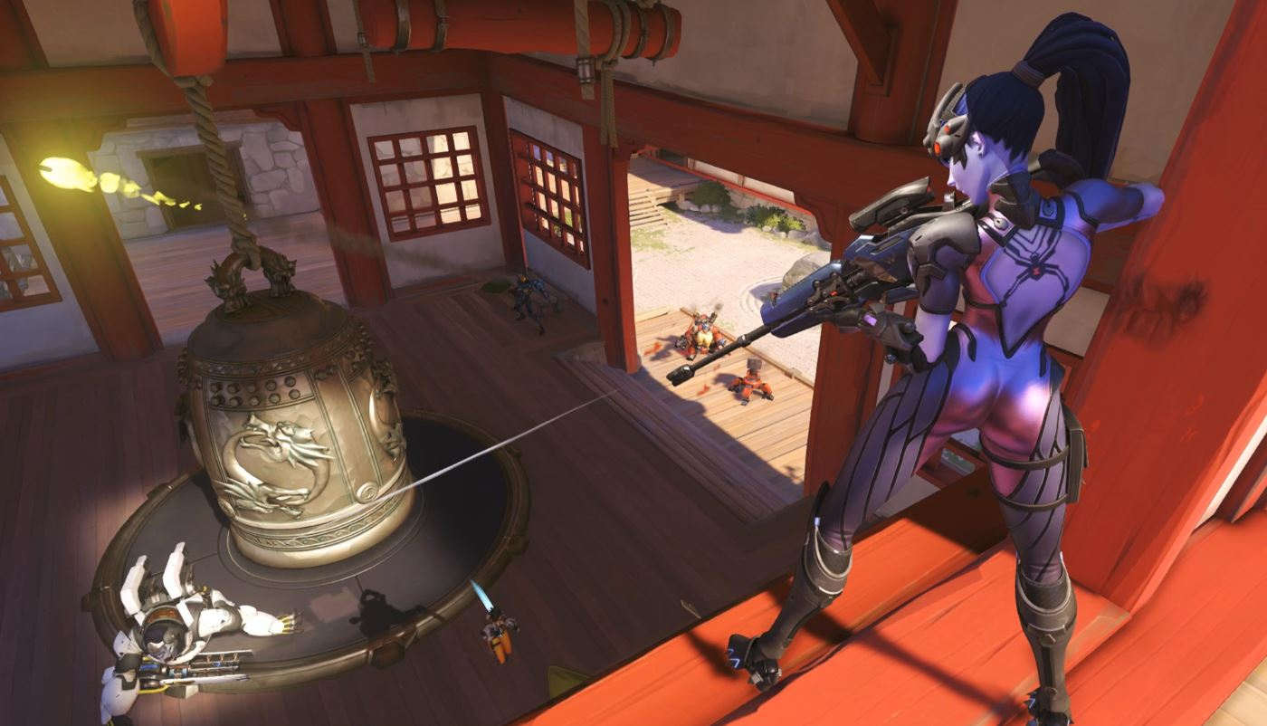 Overwatch Widowmaker Screenshot