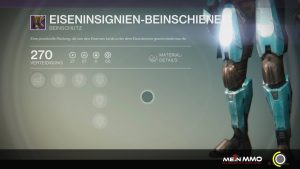 Destiny-Eiseninsignien-Bein