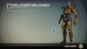 Destiny-Millionen-Millionen