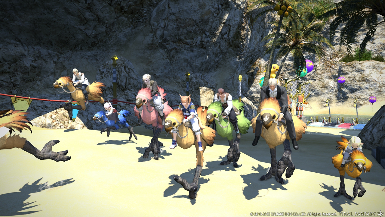 Final fantasy xiv der volle minispiel wahnsinn screenshot galerie zu