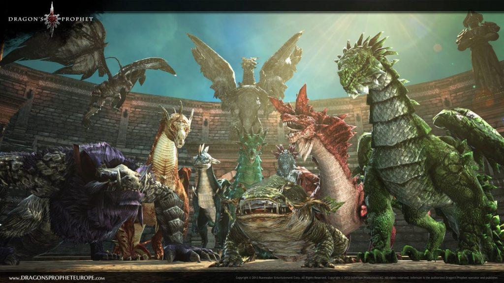 Dragons Prophet Drachen