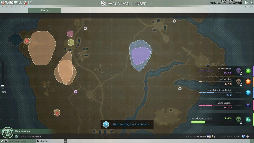 Skyforge-Karte