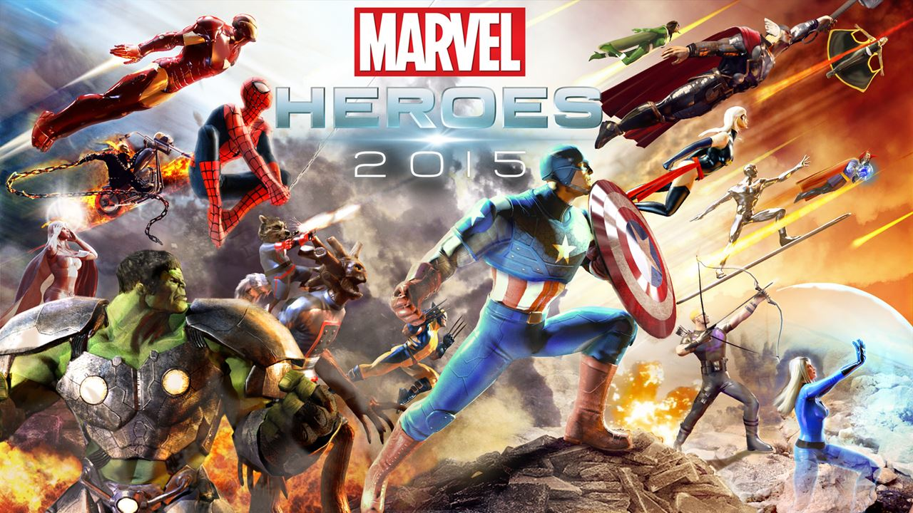 Marvel Heroes 2015 Key-Art
