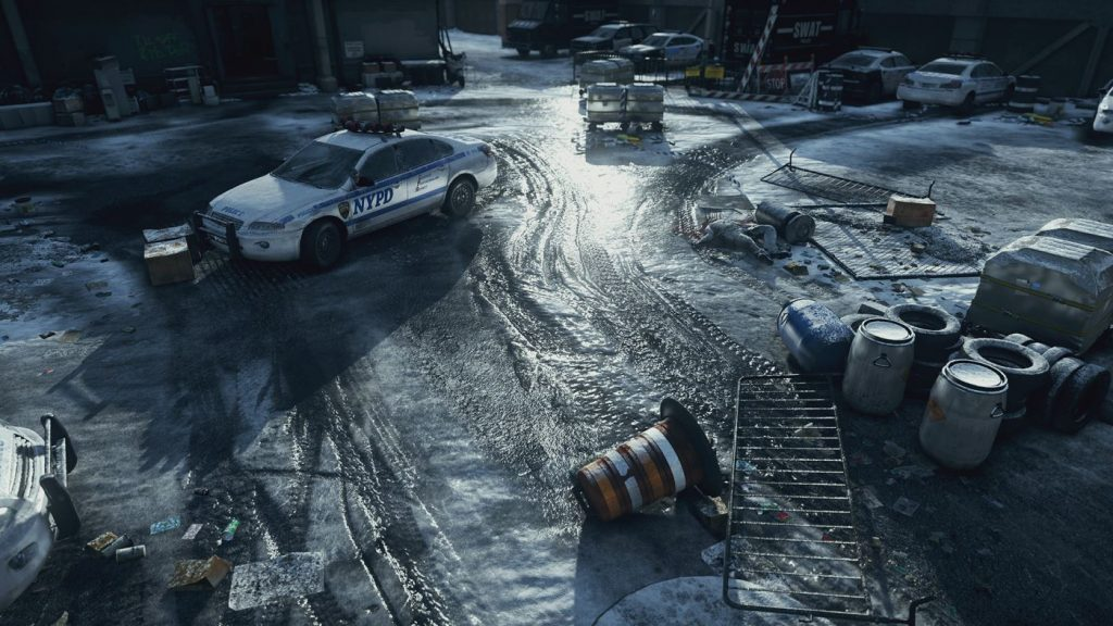 The Division Grafik Schnee 2