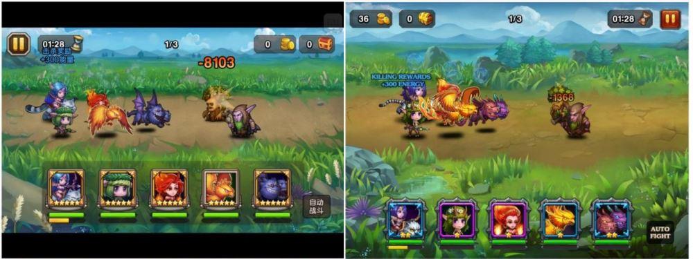 Soul Cash vs Heroes Charge