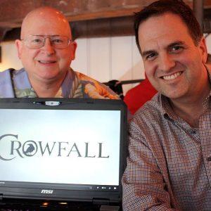 Die Macher von Crowfall: Gordon Walton und Todd Coleman.