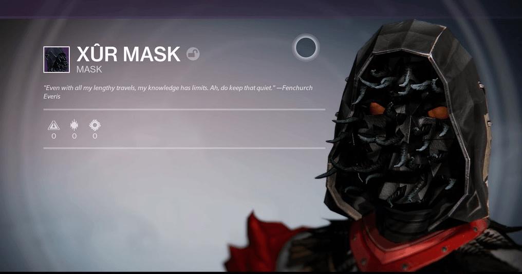 Xur-Maske