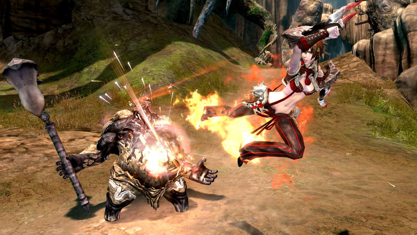 Blade and Soul Kungfu Master Skill