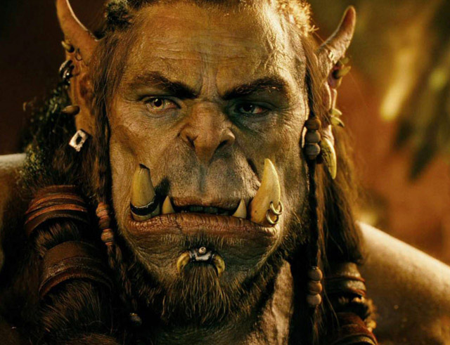 Warcraft Movie Orc Face