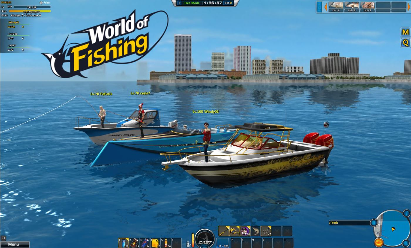 Das angel mmo world of fishing startet in die open beta for World of fishing