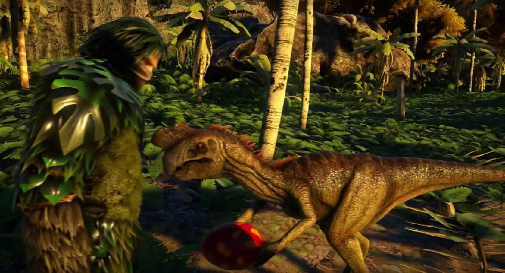 Ark Survival Oviraptor Egg steal