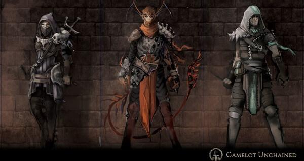 Camelot Unchained Veilstalker Red Cap Shadow Walkers
