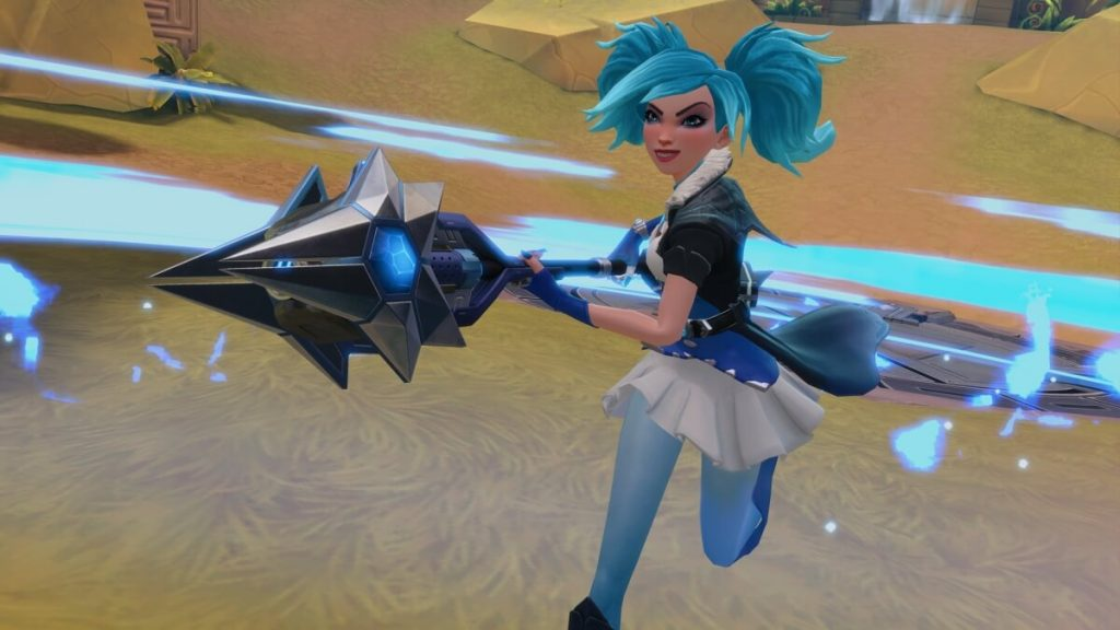 Paladins Evie Screenshot