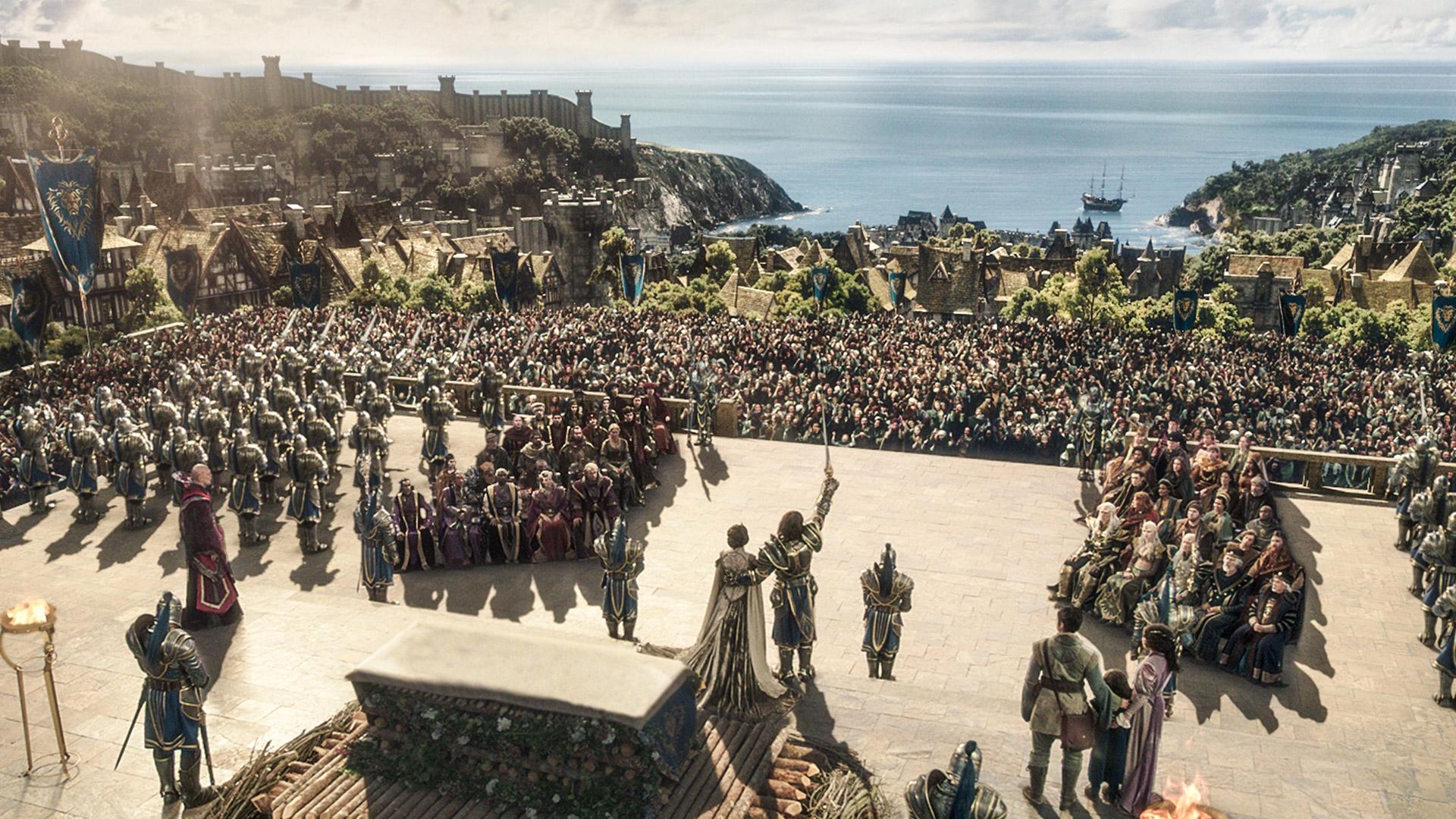 Warcraft Movie Stormwind Wardeclaration HD