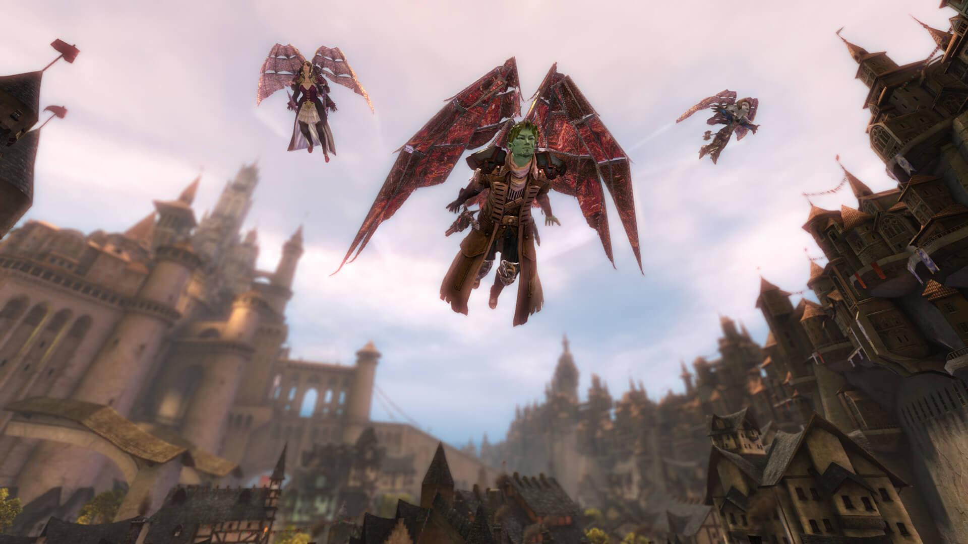 Guild Wars 2 Gliding Tyria