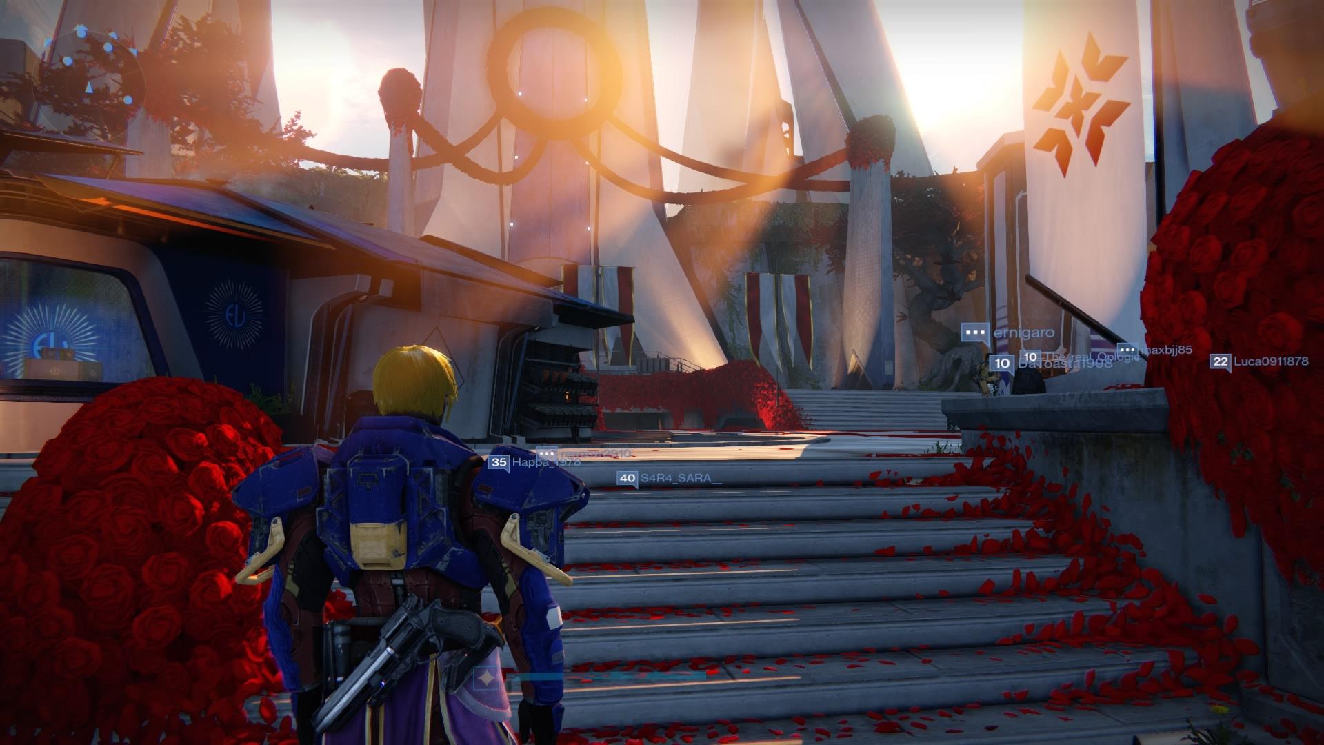 Destiny-Turm-Scharlach