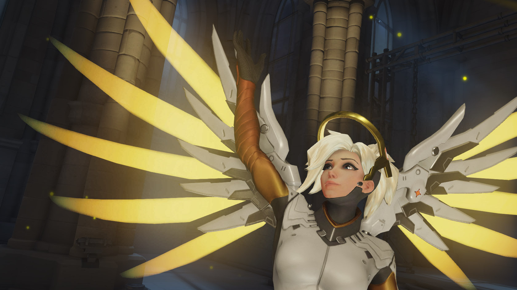 Overwatch Mercy Huge