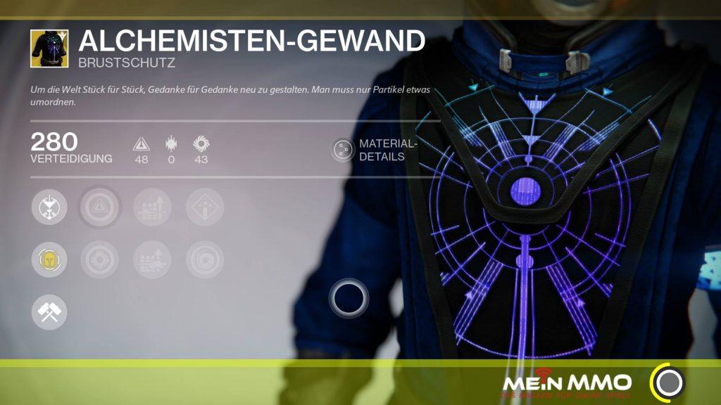Alchemisten Gewand Destiny 253