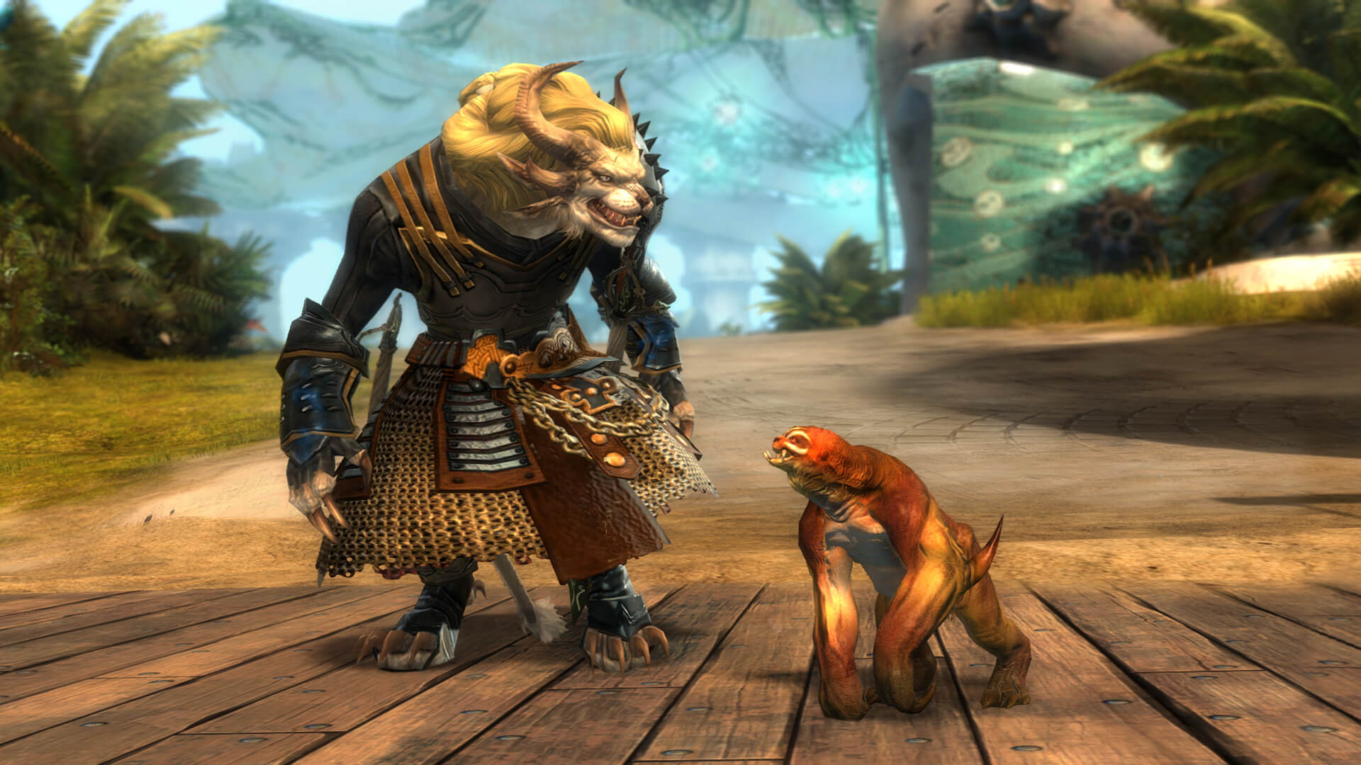 Guild Wars 2 Reward_Mini_Sloth_V2