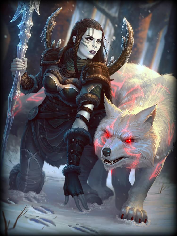 Smite Skadi Winters Wrath God Card