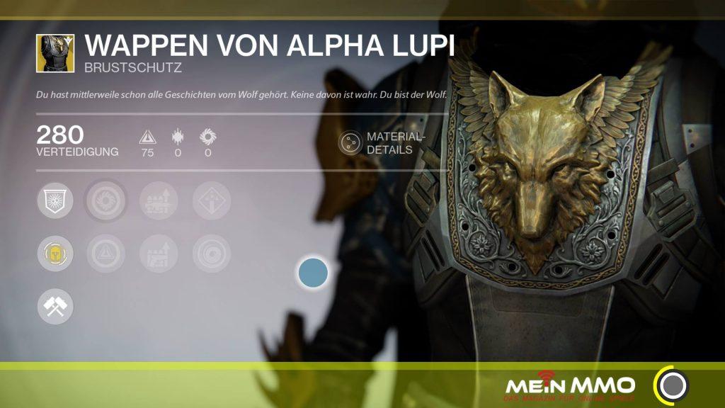 Wappen von Alpha Lupi Destiny 253