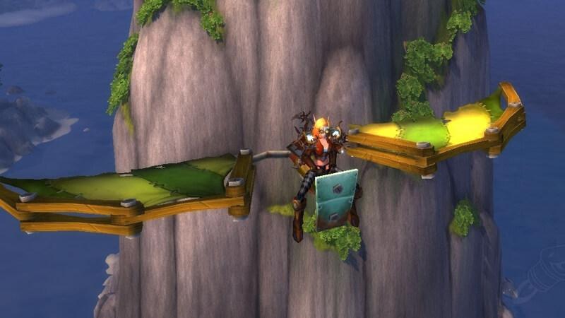 World of Warcraft Chase Glider