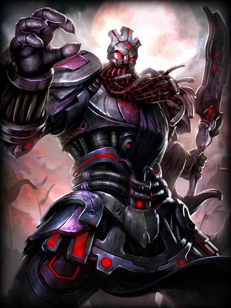 Smite Grim Horseman Guan Yu