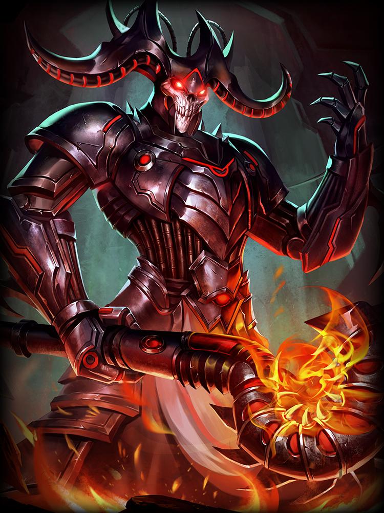 Smite Grim Wraith Hades God Card