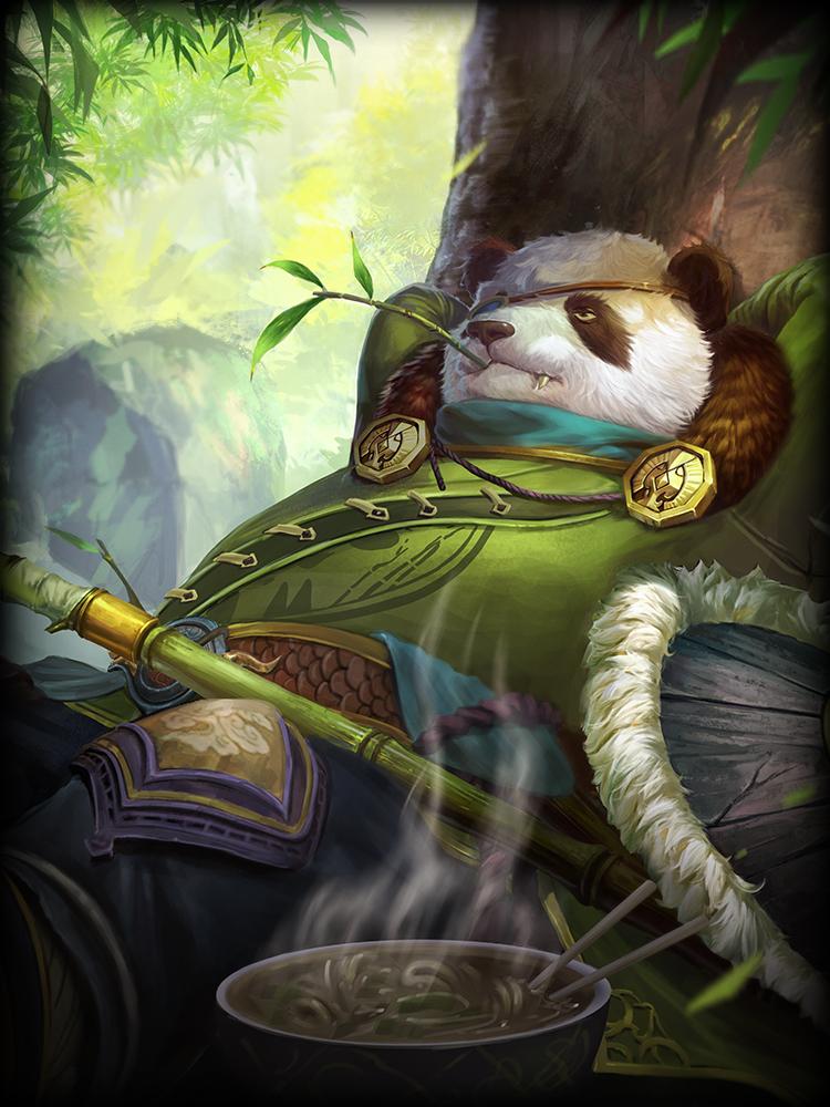 Smite Pandamonium Odin God Card