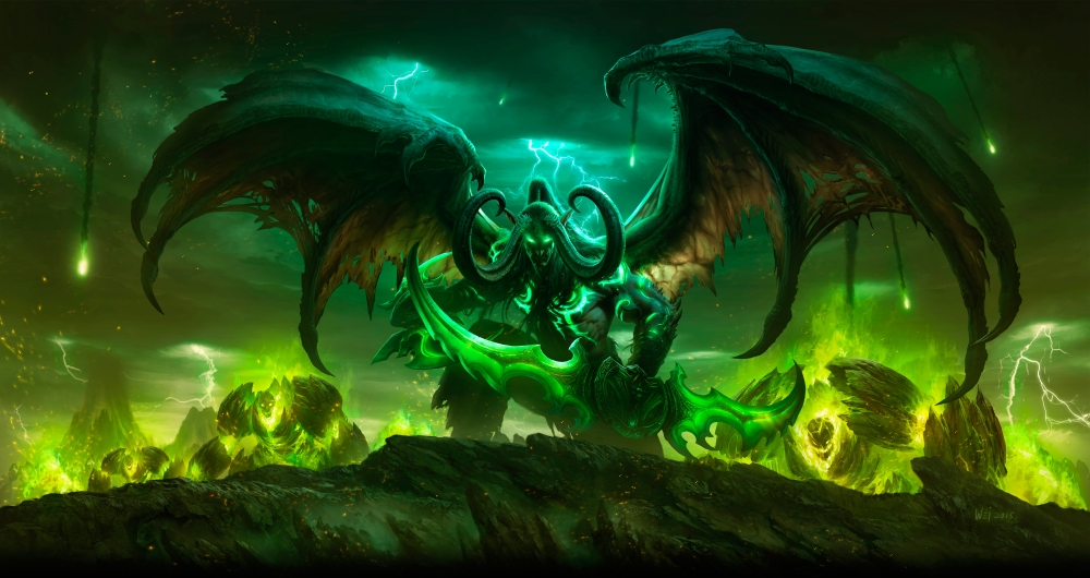 WoW Legion Illidan raw