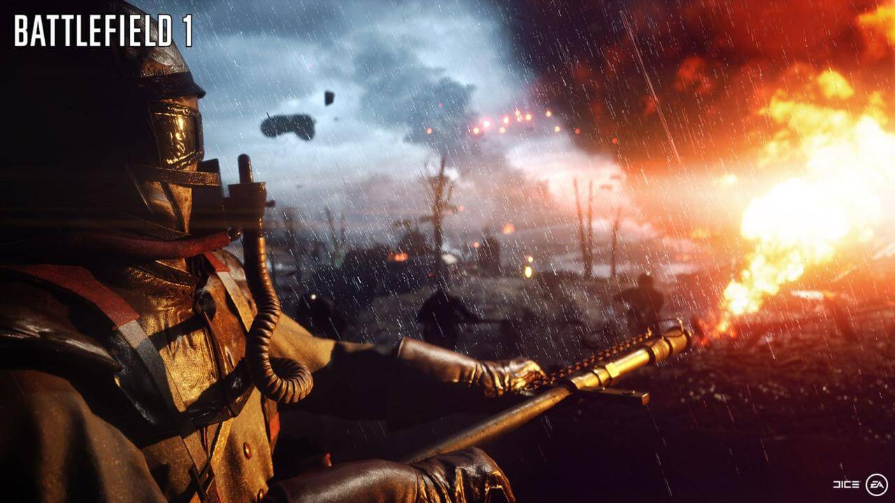 Battlefield-Flammenwerfer