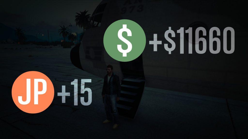 GTA 5 Mission erfolgreich