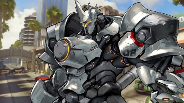 Overwatch Reinhardt Artwork