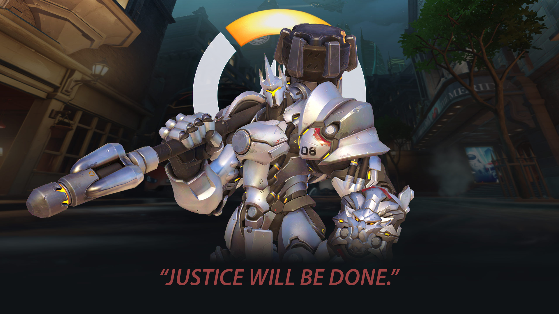 Overwatch Reinhardt Justice Will be Done