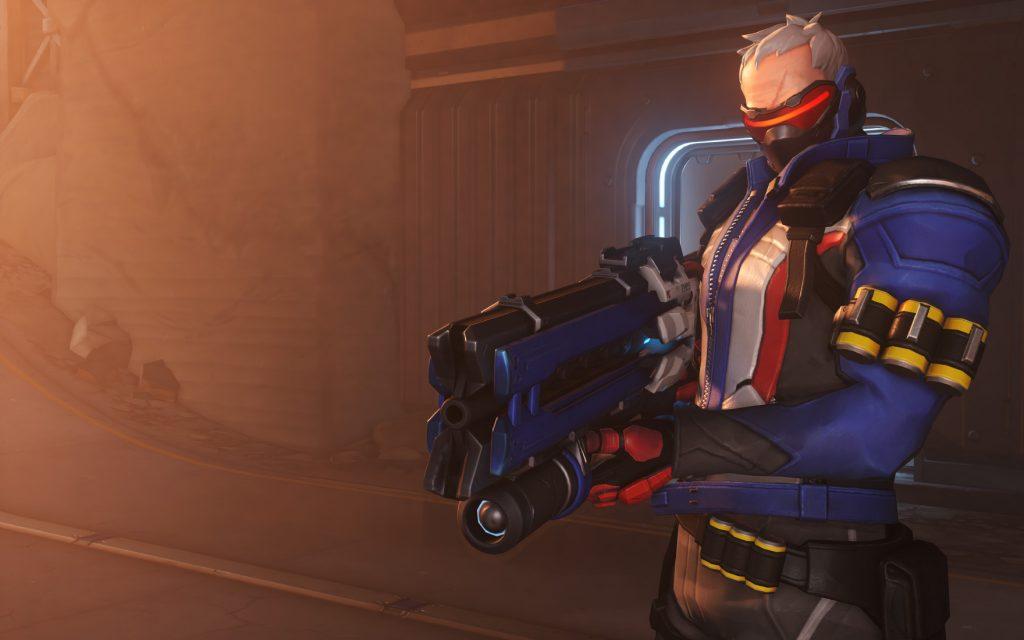 Overwatch Soldier76 Screen