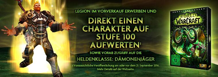 World of Warcraft Legion vorbestellen