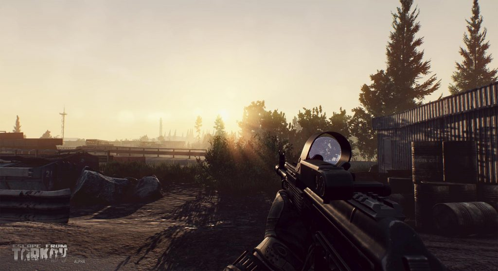 escape from tarkov alpha