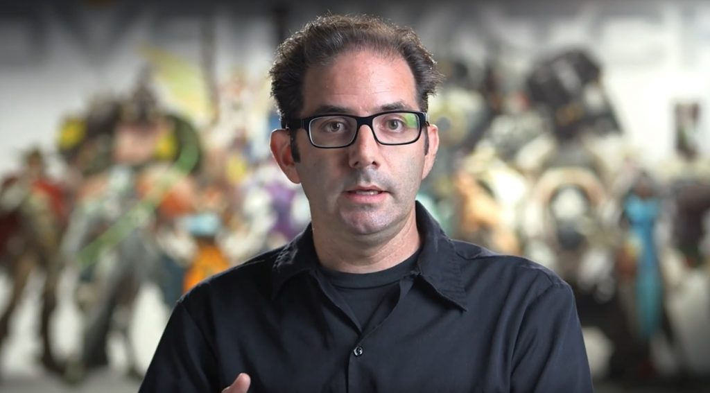 Overwatch Jeff Kaplan Game Director