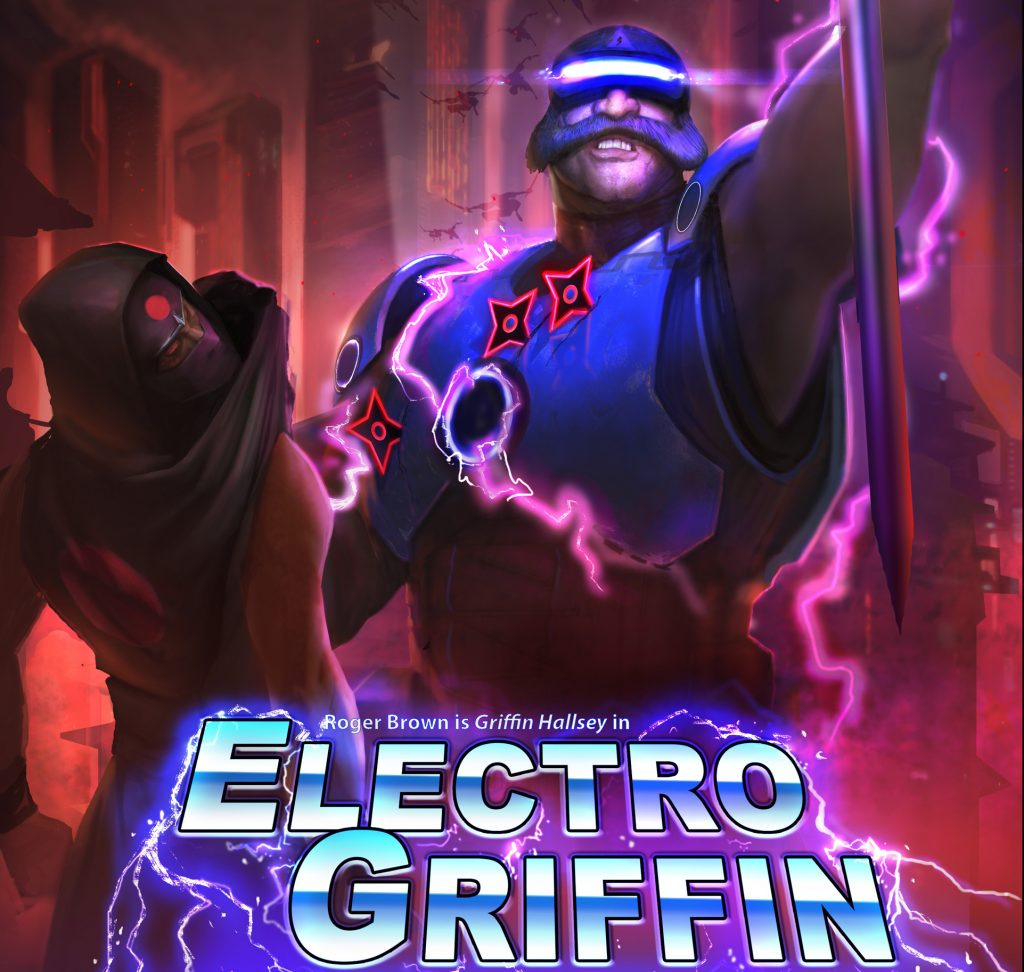 Evolve Electro Griffin Poster
