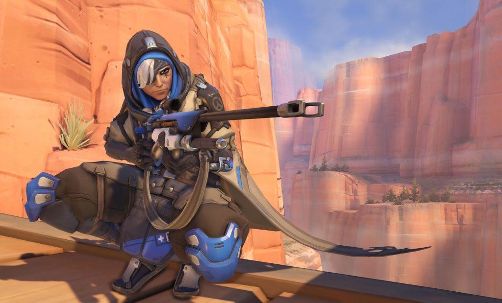 Overwatch Ana Screenshot