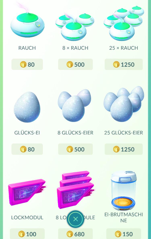 pokemon go münzen kaufen