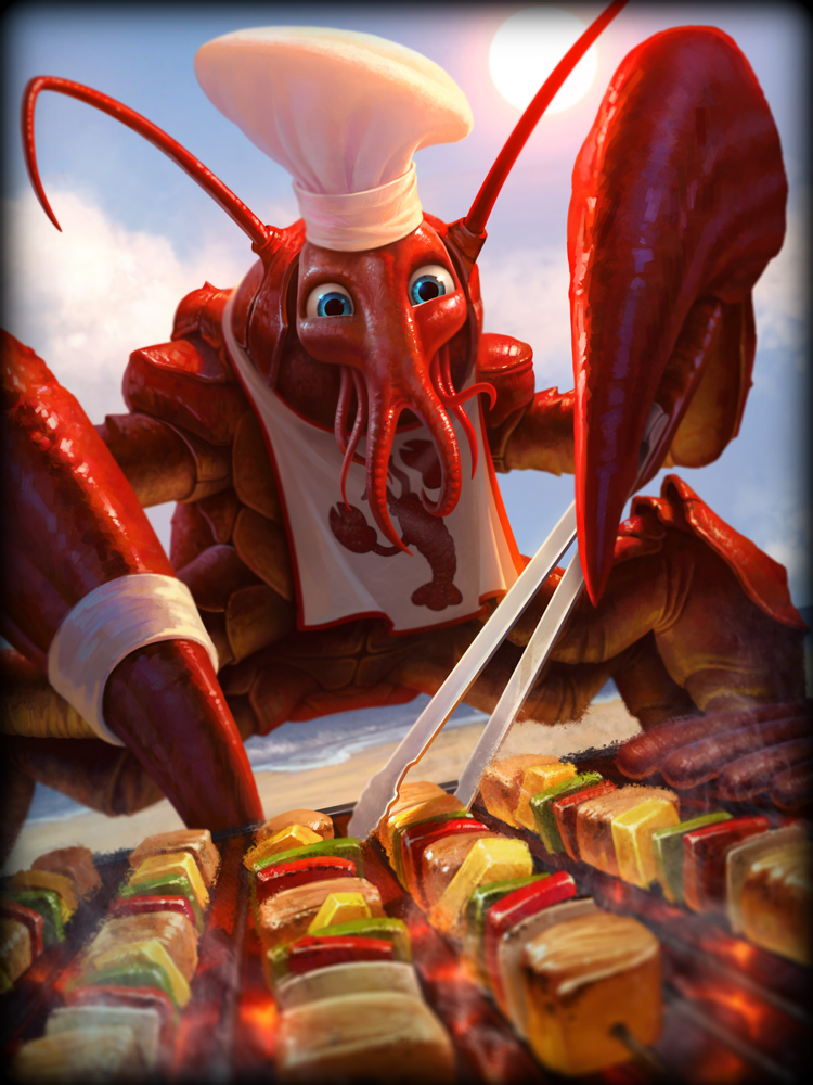 Smite God Card Chefs Special Khepri