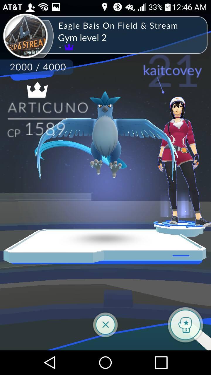 Pokemon Go Arktos