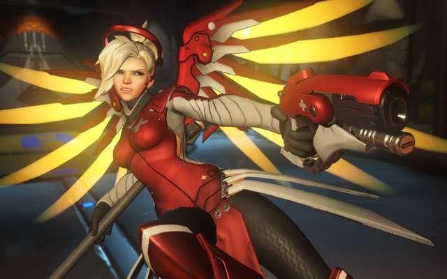 Overwatch Eidgenossin Mercy