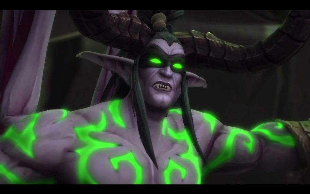 WoW Legion Illidan Cinematic