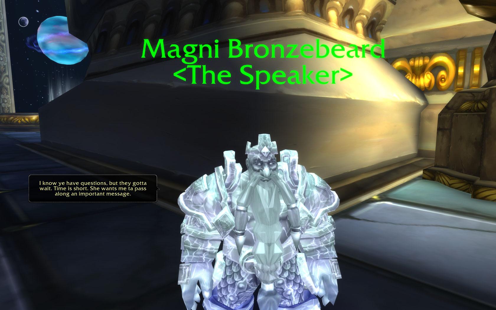WoW Legion Magni